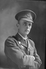 1/4 portrait of 2nd Lieutenant Edward Aroha Boscawen, Reg No 16515, of the New Zealand Mounted Rifles, 24th Reinforcements. (Photographer: Herman Schmidt, 1917). Sir George Grey Special Collections, Auckland Libraries, 31-B4084. No known copyright.