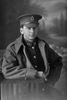 3/4 portrait of Private Harold Arthur Canham, Reg No 26790, of the Auckland Infantry Battalion, - A Company, 17th Reinforcements. Died of wounds in France on 19 June 1917. (Photographer: Herman Schmidt, 1916). Sir George Grey Special Collections, Auckland Libraries, 31-C2265. No known copyright.