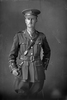 3/4 portrait of Lieutenant Harold Dixon Buddle, Reg No 24344, New Zealand Rifle Brigade 22nd Reinforcements, - J Company. (Photographer: Herman Schmidt, 1917). Sir George Grey Special Collections, Auckland Libraries, 31-B3031. No known copyright.