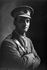 1/2 portrait of 2nd Lieutenant George Robert Dansey, Reg No 33004, of the Maori Contingent, 14th Reinforcements. New Zealand Maori Pioneer Battalion. (Photographer: Herman Schmidt, 1917). Sir George Grey Special Collections, Auckland Libraries, 31-D2738. No known copyright.