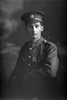 1/4 portrait of Private Samuel Frank Dickey, Reg No 56260, of the Auckland Infantry Regiment, - A Company, 29th Reinforcements. (Photographer: Herman Schmidt, 1917). Sir George Grey Special Collections, Auckland Libraries, 31-D3665. No known copyright.