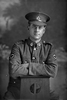 3/4 portrait of Private Vivian Leonard Gittos, Reg No 3/2509, of the New Zealand Medical Corps. (Photographer: Herman Schmidt, 1916). Sir George Grey Special Collections, Auckland Libraries, 31-G2361. No known copyright.
