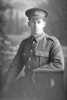 3/4 portrait of Private George Friend Lepper, Reg No 26864, of the Auckland Infantry Battalion, - A Company, 17th Reinforcements. (Photographer: Herman Schmidt, 1916). Sir George Grey Special Collections, Auckland Libraries, 31-L1746. No known copyright.