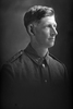 1/4 portrait of Private Archibald Noble, Reg No 38435, of the 6th (Hauraki) Regiment, Auckland Infantry Regiment, - A Company, 22nd Reinforcements, killed in action in France on 23 August 1917 at the Battle of Ypres. (Photographer: Herman Schmidt, 1916|1917). Sir George Grey Special Collections, Auckland Libraries, 31-N2873. No known copyright.