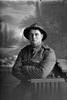 3/4 portrait of Private Stanley Edward Stewart, Reg No 44796, of the New Zealand Rifle Brigade, - G Company. (Photographer: Herman Schmidt, 1917). Sir George Grey Special Collections, Auckland Libraries, 31-S3248. No known copyright.