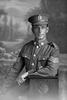 3/4 portrait of Sergeant Arthur Rawson Thomas, Reg No 31105, of the New Zealand Mounted Rifles, 24th Reinforcements. (Photographer: Herman Schmidt, 1917). Sir George Grey Special Collections, Auckland Libraries, 31-T3273. No known copyright.