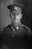 1/4 portrait of Trooper K Walker with the New Zealand Mounted Rifles, 24th Reinforcements. (Photographer: Herman Schmidt, 1917). Sir George Grey Special Collections, Auckland Libraries, 31-W2566. No known copyright.
