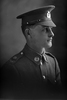 1/4 portrait of Trooper K Walker with the New Zealand Mounted Rifles, 24th Reinforcements. (Photographer: Herman Schmidt, 1917). Sir George Grey Special Collections, Auckland Libraries, 31-W2569. No known copyright.