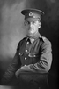 3/4 portrait of Trooper K Walker with the New Zealand Mounted Rifles, 24th Reinforcements. (Photographer: Herman Schmidt, 1917). Sir George Grey Special Collections, Auckland Libraries, 31-W2571. No known copyright.