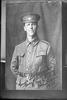 Copy neg of 3/4 portrait of Sergeant Frank Reginald Wilson, Reg No 12/2616, of the Auckland Infantry Battalion, - A Company, 6th Reinforcements. Later a 2nd Lieutenant, died of wounds in France on 19 September 1916. (Photographer: Herman Schmidt, 1915). Sir George Grey Special Collections, Auckland Libraries, 31-W3283. No known copyright.