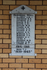 Memorial Roll, WWI and WWII, Trinity St Pauls Union Parish, Cambridge. No Known Copyright.