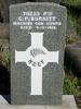 Gravestone at Waikumete Cemetery for 70233 George Burkitt. No Known Copyright.