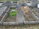 Gravestone at Bromley Cemetery for 26975 Frederick Allen Broad view. Image provided by Sarndra Lees, 30 December, 2013. Image has All Rights Reserved.