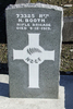 Gravestone at Ngaruawahia Public Cemetery for 73325 Harry Booth. No Known Copyright.