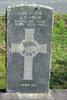 Gravestone at Ngaruawahia Public Cemetery for 10334 John Frew. No Known Copyright.