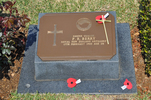 Gravestone at UN Cemetery Pusan, Korea for 644568 Peter Berry. No Known Copyright.