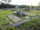 Memorial stone at Waikumete Cemetery for 22525 Herbert Milnes broad view. No Known Copyright.