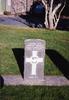 Headstone of Metua Moeau (16/1190), at Karori Cemetery. No Known Copyright.