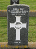 Close up of headstone of Captain William James Rodger s/n 6/978 M.C., D.C.M. at Bromley Cemetery, Christchurch. Image provided by Sarndra Lees, 22 June 2014. Image has All Rights Reserved.