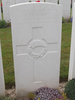 Headstone of FR Wilson s/n 12/2616 at Dernacourt cemetery, France. No Known Copyright.