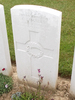 Headstone of C Lugsdin s/n 13049 at Dernacourt cemetery, France. No Known Copyright.
