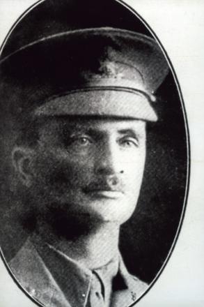 Close up portrait of Robert Candlish Allen s/n 12/3538. No Known Copyright.