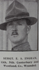 Image of Sergeant Ernest Arthur Ingram (6/656) from the Weekly News. Kindly provided by Onward Project, Phil Beattie & Matt Pomeroy. No Known Copyright.