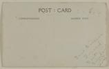 "Verso of Post Card ""Your sincere Friend Bert Sinclair 10-1-19. Bert Sinclair (5/862). Mickle, A. M. R. (n.d.)Micklealbum. Auckland War Memorial Museum - Tamaki Paenga Hira. PH-ALB-561. p. 71. No known copyright restrictions."