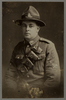Portrait of Gunner Douglas McGIll 19th Howitzer Battery N.Z.F.A. Mickle, A. M. R. (n.d.)Micklealbum. Auckland War Memorial Museum - Tamaki Paenga Hira. PH-ALB-561. p.56. No known copyright restrictions.