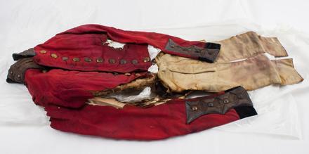 coat, military U117.1