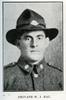 Portrait of W. J. Rau. Auckland Grammar School chronicle. 1918, v.6, n.2. Image has no known copyright restrictions.