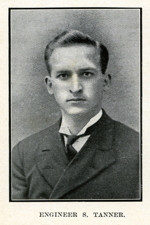 Portrait of Tanner. Auckland Grammar School chronicle. 1917, v.5, n.2. Image has no known copyright restrictions.