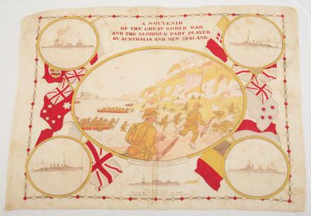 Souvenir cloth, Gallipoli Landing