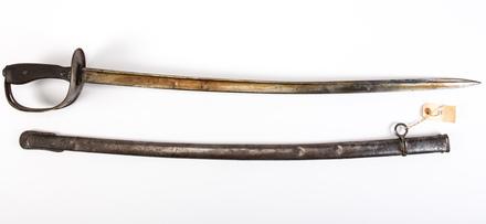 Turkish Cavalry Trooper's sword and scabbard
