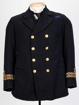 Naval Jacket of Lieutenant W.E. Sanders