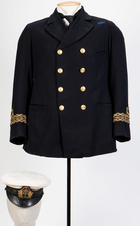 Naval Uniform of Lieutenant W.E. Sanders