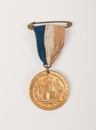 medal, commemorative, 2015.x.87