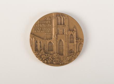 medal, commemorative, 2015.x.89