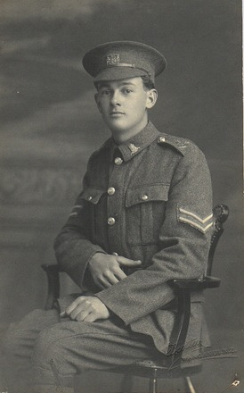 Portrait of T.V. Auld (31801). Image kindly provided by  Family. Image has no known copyright restrictions.