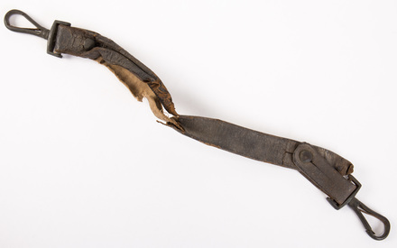 leather and cloth handle