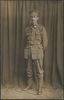 """Unknown, photographer (1916). John Jennings Crompton, March 1916. Handwritten underneath photograph """"killed in action, 1917, France"""". Auckland War Memorial Museum - Tamaki Paenga Hira (PH-1964-6-49). Image has no known copyright restrictions."""