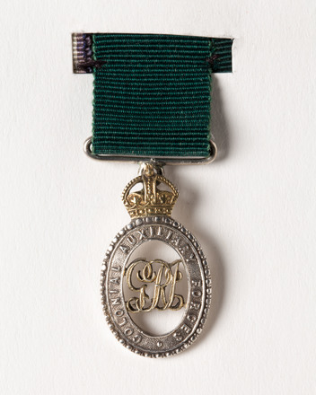 Colonial Auxiliary Forces Officer's Decoration, 2001.25.481.15