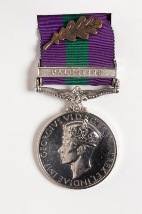 General Service Medal 1918-62 2001.25.652.1