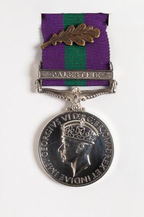General Service Medal 1918-62 2001.25.672.1