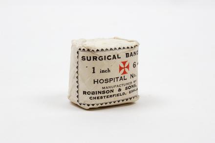 bandage, packet 2014.69.23
