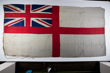 F006 white ensign