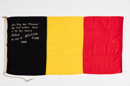 flag, fundraising, 2015.45.1