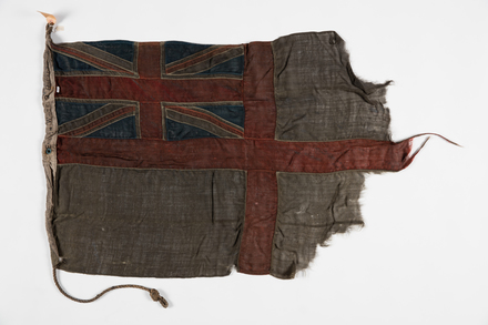 flag, ensign, 1932.462, F057, W0593