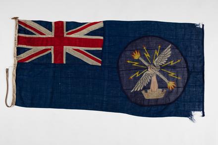 flag, ensign, 1992.125, F176
