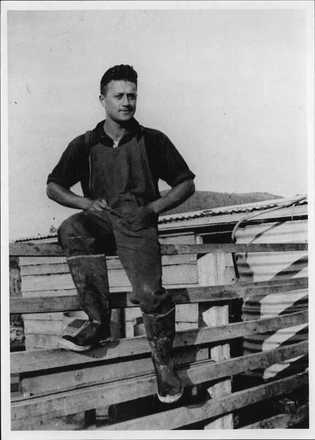Portrait of James Henare. Auckland War Memorial Museum - Tamaki Paenga Hira (PH-NEG-C23065). This image may be subject to copyright